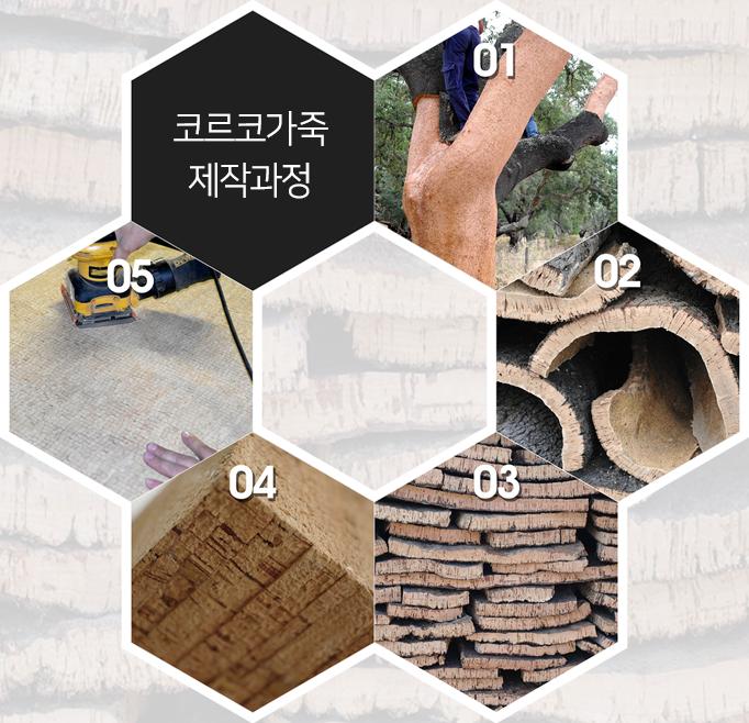 코르코 가죽 제작과정
